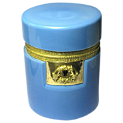Rare 'Blue Lavande' Opaline Casket with Superb Dore Bronze Mounts circa.1820