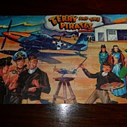 1946 Terry and the Pirates Jaymar Jigsaw puzzle w Box!