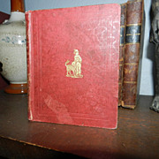 Saint Nicholas Gift For little boys  & girls . 1845 chap book 1st edition.