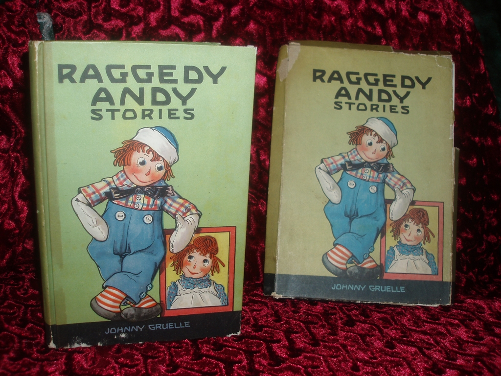 Raggedy Andy Stories 1920 Johnny Gruelle in BOX!!!