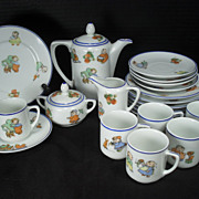 Happifats Child's Tea or Coffee Set - 23 Pieces but.. Free Domestic Shipping