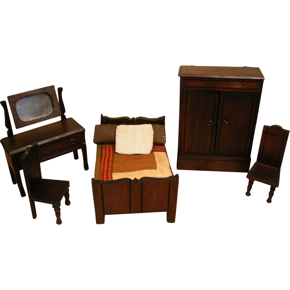 reserved english doll house furniture elgin lines bros bedroom and