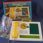 Fisher Price Message Center with Box - Sealed Accessories