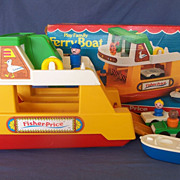 Fisher Price Play Family Ferry Boat - Complete with Box