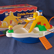 Fisher Price Little People Cruise Boat - Complete with Box