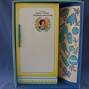 Wolverine Snow White Refrigerator in the Original Box