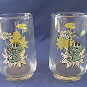 Sears Neil the Frog Tumblers - 12 oz