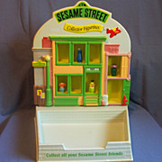 Sesame Street Collector Figurines Store Display