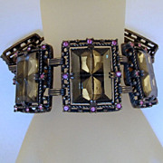 Midnight Magic Sarah Coventry Bracelet  Vintage 1957