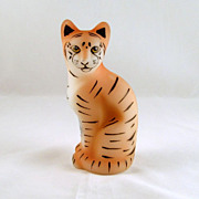 Fenton Tiger Jungle Cats Series 5065 IU Signed D. Caplinger
