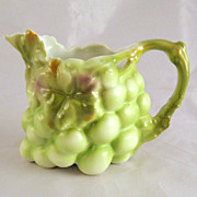 Green Royal Bayreuth Grape Cream Pitcher