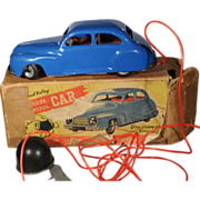 Chad Valley UK Vintage Pressed Steel Wind-up Car