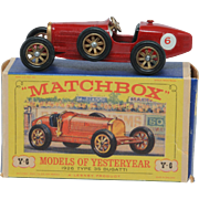 Matchbox Models of Yesteryear Y 6-2 Supercharged Bugatti Type 35