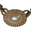 Vintage RICHELIEU Faux Pearl & Goldtone Necklace - 1960s Grand Pearls