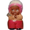 Vintage 1930s Celluloid Indian Chief Toy Doll Figurine