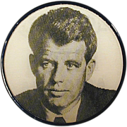 1968 ROBERT KENNEDY for President Campaign Flicker Flasher Pin