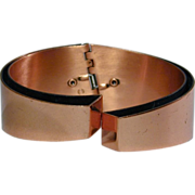 As Minimalist Modernist As It Gets RENOIR Copper Bracelet