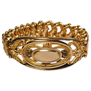Old 1900s CARMEN Sweetheart Expansion Bracelet