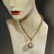 1950s Sarah Cov ~ Dancing Magic ~ Disco Ball AB Rhinestone Set