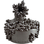 Dolly Moreno Magnetic Steel Sculpture