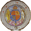 King Emperor Edward VIII 1937 Coronation Plate