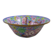Cloisonne Enamel Basin Over 15 inches in Diameter Center Bowl