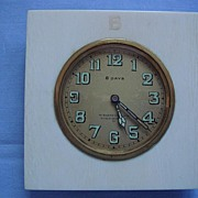 Art Deco Ivory Clock