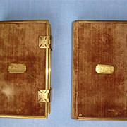 Victorian Bible And Prayer Book