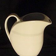 SALE Hall White Riviera Jug Pitcher