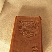 "SALE Roycroft First Edition Book by Hubbard ""Health and Wealth"""
