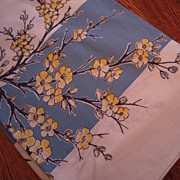 Vintage Spring Blossom Tablecloth