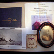 WW I British Sailor Group Killed at Jutland