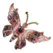 Vintage  Pink Enamel Butterfly Brooch/Pin