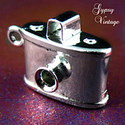 Vintage  Danecraft Sterling Camera Charm