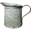 Sweet & Simple Itty Bitty Gray Graniteware Measure Pitcher