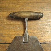 Medium Size Early Old Primitive Farmhouse Kitchen Chopper