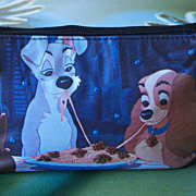 SALE PENDING Darling Disney Lady & The Tramp Spaghetti Moonlight Dinner Purse