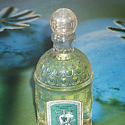 SALE Rare Vintage Guerlain Paris Sealed Imperiale Perfume Bee Bottle-6 1/2 H
