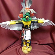 Hopi Artist  Johnny Ramos 1970s Eagle Kachina