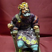 "Royal Doulton ""The Old King"" HN2134 - Rare"