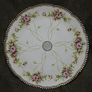 "SALE Beyer & Bock Prussia 13"" Scalloped Platter"