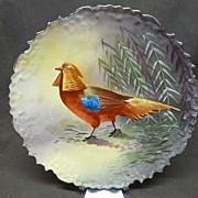 SALE Blakeman & Henderson (B&H) Limoges Game Bird Plate