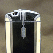 SALE Vintage Art Deco Ronson Lighter Cigarette Case