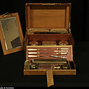 English 1890 Travel Travel Dressing Case