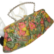 Silky Floral Pocketbook Purse