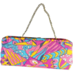 Wide Mod Bright Pocketbook Purse