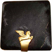 Vintage Gucci Winged Pegasus Powder Compact ~ Signed by Founder Guccio Gucci ~ Rare Find for t