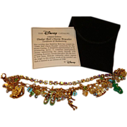 SALE Disney's Crystal Tinker Bell Charm Bracelet ~ Created for Disney by Madeline Beth ~ Limit