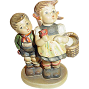 "M. I. Hummel ""To Market"" Figurine ~ Number 49/3/0 ~ Trademark #5 ~ a Perfect Pair!"