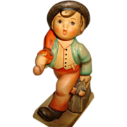 M. I. Hummel Merry Wanderer Figurine ~ Number 11/2/0 ~ Trademark #5 ~ a Fabulous Little Fellow